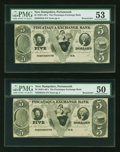 Obsoletes By State:New Hampshire, Portsmouth, NH- Piscataqua Exchange Bank $5 Two Examples. ... (Total: 2 notes)