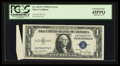 Error Notes:Attached Tabs, Fr. 1613W $1 1935D Wide Silver Certificate. PCGS Extremely Fine45PPQ.. ...