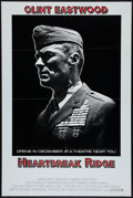 """Movie Posters:War, Heartbreak Ridge Lot (Warner Brothers, 1986). One Sheets (2) (27"""" X41"""" and 27"""" X 40"""") SS Advance and Regular. War.. ... (Total: 2Items)"""