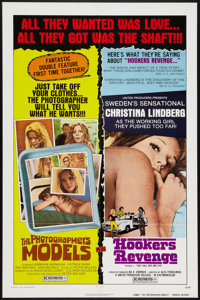 "The Photographer's Models/Hookers Revenge Combo (United Producers, 1975). One Sheet (27"" X 41""). Sexploitation..."