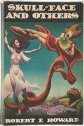 Books:Hardcover, Robert E. Howard Skull-Face and Others (Arkham House, 1946)....