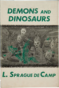 Books:Hardcover, L. Sprague DeCamp Demons and Dinosaurs (Arkham House,1970)....