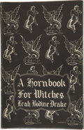 Books:Hardcover, Leah Bodine Drake A Hornbook for Witches (Arkham House, 1950)....