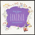"""Movie Posters:Animation, Fantasia (Buena Vista, R-1977). Program (8.75"""" X 8.75"""") (Multiple Pages). Animation.. ..."""