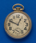 Timepieces:Pocket (post 1900), Waltham, 23 Jewel, 16 Size Vanguard. ...