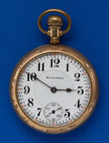 Timepieces:Pocket (post 1900), South Bend 17 Jewel Grade 211 Montgomery Dial. ...