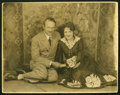 "Movie Posters:Romance, Billie Dove (1923). Photo with Husband, Director Irvin Willat (11""X 14""). .. ..."