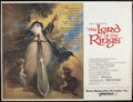 "Movie Posters:Animation, The Lord of the Rings (United Artists, 1978). Subway (45"" X 59.5"").Advance. Animation.. ..."
