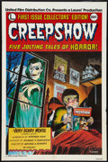 "Movie Posters:Horror, Creepshow Lot (Warner Brothers, 1982). International One Sheet and One Sheet (27"" X 41"") and Mini International Posters (2) ... (Total: 4 Items)"