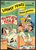"Movie Posters:Animated, Looney Tunes and Merrie Melodies No. 100 (Dell Comics, February 1950). Comic Book (7.25"" X 10.25""). Animated.. ..."