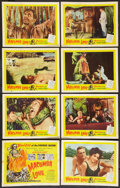 """Movie Posters:Horror, Macumba Love (United Artists, 1960). Lobby Card Set of 8 (11"""" X14""""). Horror.. ... (Total: 8 Items)"""