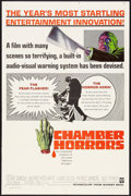 """Movie Posters:Horror, Chamber of Horrors (Warner Brothers, 1966). One Sheet (27"""" X 41""""). Horror.. ..."""