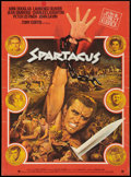 "Movie Posters:Adventure, Spartacus (Universal International, 1960). French Petite (15.5"" X21.25""). Adventure.. ..."