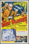 """Movie Posters:Serial, The Lost Planet (Columbia, 1953). One Sheet (27"""" X 41"""") Chapter11-- """"Dr. Grood Defies Gravity."""" Serial.. ..."""