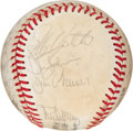 Basketball Collectibles:Balls, 1978 Montreal Expos Team Signed Baseball (19 Signatures)....