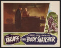 "Movie Posters:Horror, The Body Snatcher (RKO, 1945). Lobby Card (11"" X 14""). Horror.. ..."