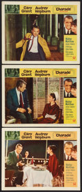 """Movie Posters:Mystery, Charade (Universal, 1963). Lobby Cards (3) (11"""" X 14""""). Mystery..... (Total: 3 Items)"""