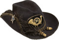 Military & Patriotic:Civil War, Magnificent Civil War US Officer's Slouch Hat Identified to 28th Penna. Inf....
