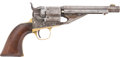 Military & Patriotic:Indian Wars, Colt Conversion of M1861 Navy Revolver to .38 RF #2858....
