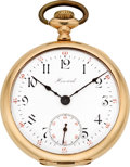 Timepieces:Pocket (post 1900), Howard 21 Jewel Series 10, Original Box. ...
