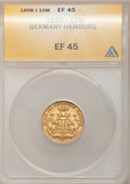 German States:Hamburg, German States: Hamburg. Free City gold 10 Mark 1898J,...