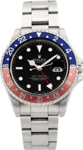 Timepieces:Wristwatch, Rolex GMT - Master Ref. 16700 Steel Wristwatch, circa 1995. ...
