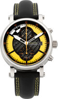 Timepieces:Wristwatch, Martin Braun Grand Prix Chronograph I, Limited Edition No. 208/250. ...