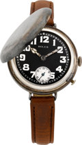Timepieces:Wristwatch, Rolex Rare Early Military Wristwatch, circa 1916. ...