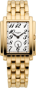Timepieces:Wristwatch, Patek Philippe Ref. 5024/1J-001 Gold Gondolo Gent's Wristwatch. ...