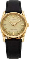 Timepieces:Wristwatch, Rolex Ref. 1010 Vintage Gold Oyster Perpetual, Original Box & Papers, circa 1962. ...