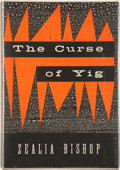 Books:Hardcover, Zealia Bishop The Curse of Yig (Arkham House, 1953)....