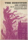 Books:Hardcover, H. P. Lovecraft and August Derleth The Survivor and Others (Arkham House, 1957)....