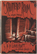 Books:Hardcover, H. P. Lovecraft and Divers Hands The Shuttered Room and OtherPieces (Arkham House, 1959)....