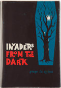 Books:Hardcover, Greye La Spina Invaders From the Dark (Arkham House,1960)....