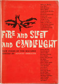 Books:Hardcover, August Derleth (editor) Fire and Sleet and Candlelight(Arkham House, 1961)....