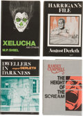 Books:Hardcover, August Derleth and Others Assorted Arkham Editions (Arkham House,1975-76).... (Total: 4 Items)