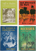 Books:Hardcover, Assorted 1970s Arkham Editions (Arkham House, 1976-78).... (Total: 4 Items)