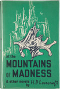 Books:Hardcover, H. P. Lovecraft At the Mountains of Madness and Other Novels First Edition(Arkham House, 1964)....