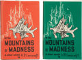 Books:Hardcover, H. P. Lovecraft At the Mountains of Madness and Other NovelsSecond and Fourth Printings (Arkham House, 1968-75).... (Total: 2 )