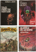 Books:Hardcover, Assorted 1980s Arkham Editions (Arkham House, 1981-82).... (Total:4 Items)