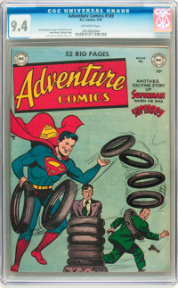 Adventure Comics #149 (DC, 1950) CGC NM 9.4 Off-white pages