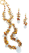 Estate Jewelry:Suites, Citrine, Aquamarine, Gold Jewelry Suite, Laura Gibson. ...