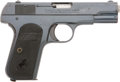 Military & Patriotic:WWI, Colt M1903 Hammerless Pocket Automatic .32 Cal. #373641....