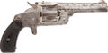Military & Patriotic:Indian Wars, Smith & Wesson 2d Model .38 Cal. Single Action Revolver Serial#32933....