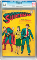 Golden Age (1938-1955):Superhero, Superman #30 (DC, 1944) CGC FN+ 6.5 Off-white pages....