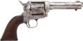 Military & Patriotic:Indian Wars, Colt SAA Revolver .45 Cal. Mfg. 1876 Mixed Numbers....