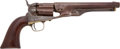 Military & Patriotic:Civil War, Colt M1860 .44 Cal. Percussion Fluted Cylinder Army Revolver #3842 with a Fascinating History....