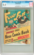 Golden Age (1938-1955):Funny Animal, Funny Stuff #nn (DC, 1946) CGC VF 8.0 Off-white to white pages....