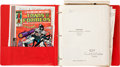 Memorabilia:Miscellaneous, Transformers Fact Book in Red Vinyl Three-Ring Binder with Related Promotional Material Group (Sunbow Productions, Inc...