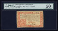 Colonial Notes:Pennsylvania, Pennsylvania April 10, 1777 £4 PMG About Uncirculated 50 EPQ.. ...